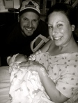 Newman Birth Pic